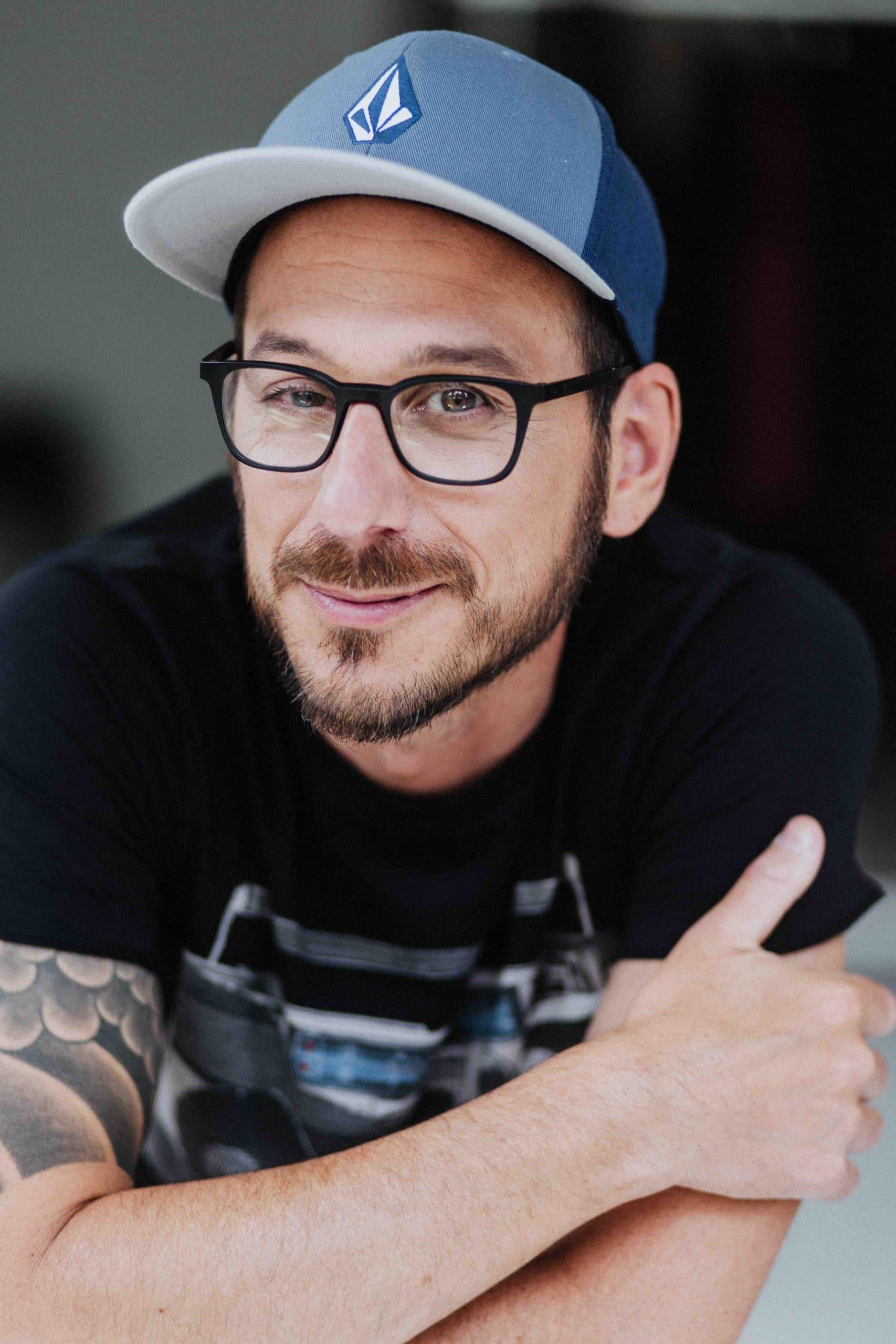 Portrait de Dominic Arpin, animateur