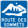 Route des sommets